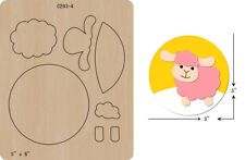 New,Christmas,Sheep,Wooden die,Scrapbooking,Cutting Dies,Free shipping,c293-4