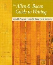 The Allyn & Bacon Guide to Writing (3rd Edition)