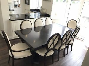 Selva Italian Dining Table And 8 Chairs
