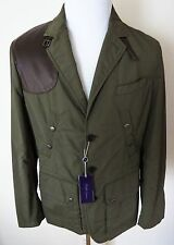 $3295 NWT RALPH LAUREN PURPLE LABEL Jacket Coat Lambskin Trim Size L Large