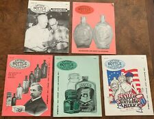 Lot of 5 Antique Bottle & Glass Collector Magazine (1993)