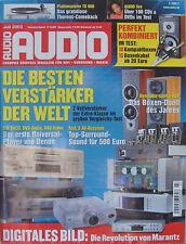 Audio 7/03 Thorens TD 800, Symphonic line RG 10, Canton le 102, misión m50