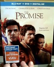 THE PROMISE Blu-ray/DVD/Digital HD (CASE, COVER, CODE & ALL DISC)