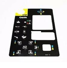NEW Genie Platform Control Panel Decal (Genie# 82417, 82417GT)