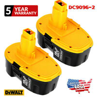 2X Upgraded DC9096-2 For DeWALT DC9096 18-Volt XRP Battery DW9098 DC9099 DW9095
