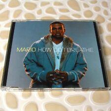 Mario - How Do I Breathe SONY BMG EU Official Promo CD 3Trk #0706
