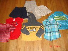 LITTLE BOYS LOT 2 - PANTS, SHORTS, SHIRTS, SWEAT, SIZE 18 MONTHS