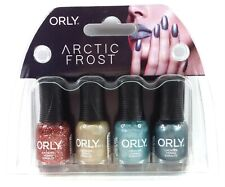 Orly Nail Lacquer - ARCTIC FROST - MINI Pack of 4 Colors x 0.18oz/5.3ml