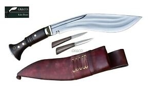 10 inch 3chirra(3Fuller) Gurkha Kukri-Real working knife-Handmade in Nepal GK&CO