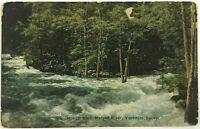 1900's Happy Isles Merced River Yosemite Valley California CA Vintage Postcard