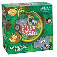 Cheatwell Games - Silly Safari Round Tin Game