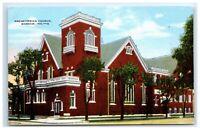 Postcard Presbyterian Church, Warsaw IN Indiana G43