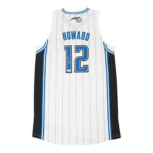 Dwight Howard signed Orlando Magic Authentic On-Court Rev 30 Home Jersey BAS