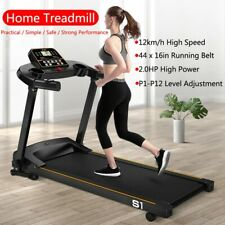 Multifunctional Electric Treadmill 2.0HP Folding Running Machine Exercise
