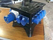 Rubber Box Distro 63 amp single