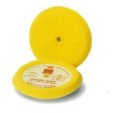 "Schlegel 2002 Buffing Pad Foam Medium Cutting Yellow 9"" Diameter 1.50"" Thick"