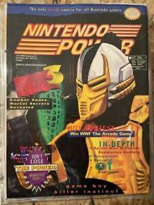 Nintendo Power Mortal Kombat 3 - Volume 78 - November 1995