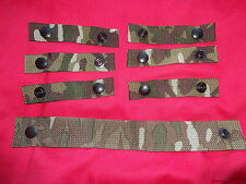 British Army Osprey MK4 / 4A Rank Strap and 6X Attachment Straps - MTP - Grade 1