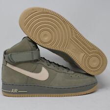 online retailer b45a0 52f2a Mens Nike Air Force 1 High  07 Basketball Shoes Size 12 Olive Green 315121  048
