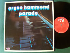 ORGUE HAMMOND PARADE & orch F. RAYNAUD - LP French issue 1975 - DRUM & BASS