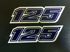 Adesivo fiancatine 125 KTM GS 1981- adesivi/adhesives/stickers/decal