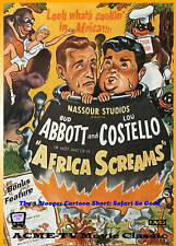 Abbott and Costello Africa Screams - ACME Classic DVD! Full Screen