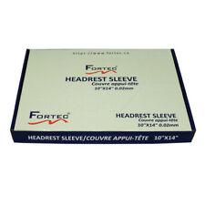 "Disposable Headrest Sleeve, plastic 10"" x 14"" 0.02mm Thick (500 PCS /BOX)"