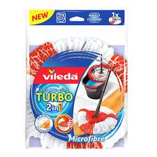 Vileda Turbo 2in1 EasyWring & Clean Ersatzkopf Microfaser Wischmopkopf 1 Stück