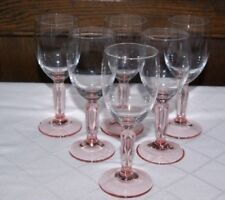 Crystal/Cut Glass Pink Date-Lined Glass