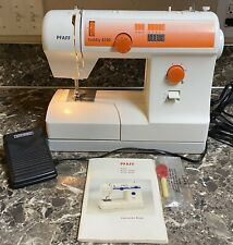 PFAFF 4240 Electronic Hobby Sewing Machine With Foot Pedal Manual Tested Used