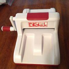 SIZZIX BIGkick Big Kick Machine Red & White Machine Only