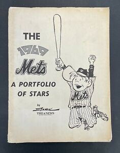 1969 New York Mets Portfolio of Stars Complete set of 20 Bruce Stark