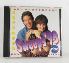 ABC Photography Program Information November Sweeps '93 CD 1993 TV