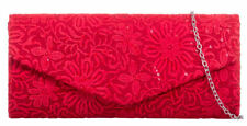 Floral Clutch Handbags with Inner Pockets