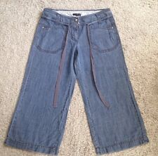 Blue 3/4 Trousers size 10 by Next