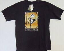 Vintage w/Tags 90s Nightmare Before Christmas Disneyland Bone Daddy L Tshirt