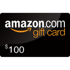 $100 AMAZON GIFT CARD **SHIPS FREE**