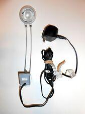 IKEA Slim Wall Mountable Reading Study Lamp Light W/ 120V AC Adaptor Transformer