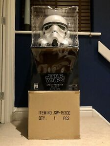Master Replicas SW-153 30th Anniversary Stormtrooper Helmet Full Size. New