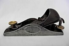 Stanley 9 1/2 Block Plane Low Angle Old Woodworking Tool