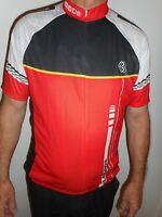 Mens Cycling Bike short Sleeve Jersey  Lambda XL Red/Black/White/Yellow