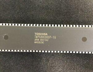 TMP68HC000P-16 TOSHIBA MPU TMP68HC000 RISC 16bit 16MHz PDIP 2 PIECES