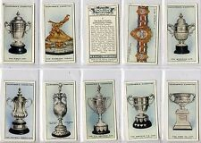 Full Set, Churchman, Sporting Trophies, 1927 VG-EX (Gl287-213)