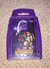 *NEW* Marvel Avengers Infinity War Top Trumps Card Game *SEALED*
