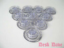 10 New Clear Sewing Machine Bobbins for SINGER ATHENA, FUTURA, CREATIVE TOUCH+