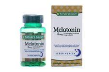 60 softgels Nature's Bounty Melatonin 5mg helps promote relaxation & sleep