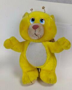1984 Hasbro Wuzzles Hasbro Plush Walt Disney Stuffed Toys Softies Butter Bear