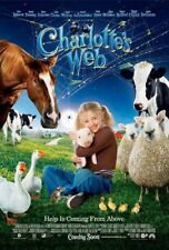 CHARLOTTE'S WEB MOVIE POSTER 2 Sided ORIGINAL B 27x40