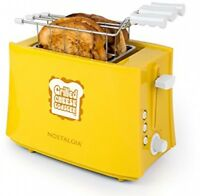 Toaster 2 Slice Grilled Cheese Sandwich Removable Baskets Machine Cooker