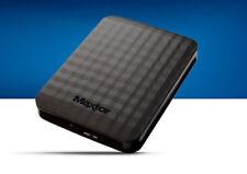 Discos duros externos negros Maxtor para ordenadores y tablets para 2TB